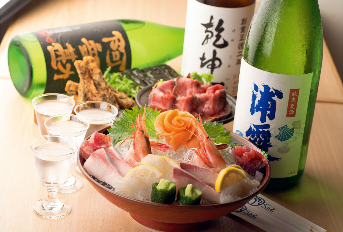 仙臺驛日本酒バル ぷらっと